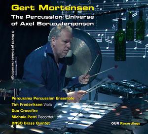 【輸入盤CD】Borup-Jorgensen/Mortensen/Petri/Frederiksen / Percussion Universe Of Axel Borup-Jorgensen (SACD)