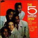 【輸入盤CD】【ネコポス送料無料】Five Satins / Five Satins Sing Their Greatest Hits (ファイヴ・サテンズ) - あめりかん・ぱい