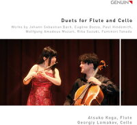 Mozart/Koga/Lomakov/DuetsForFlute&Cello(輸入盤CD)【I2015/3/10発売】