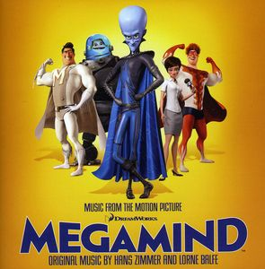 【輸入盤CD】【ネコポス送料無料】Soundtrack / Megamind (サウンドトラック)