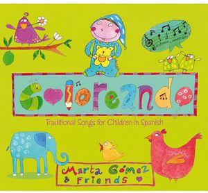 【輸入盤CD】【ネコポス送料無料】Marta Gomez / Coloreando: Traditional Songs For Children In