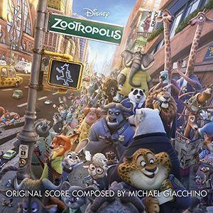 輸入盤CD MichaelGiacchino(Soundtrack)/Zootropolis