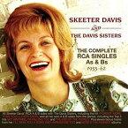 【輸入盤CD】【ネコポス送料無料】Skeeter Davis / Complete RCA Singles As & Bs 1953-62 【K2016/12/9発売】( スキーター・デイヴィス)