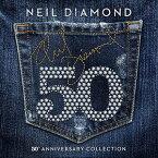 【輸入盤CD】Neil Diamond / 50th Anniversary Collection 【K2017/3/31発売】(ニール・ダイアモンド)