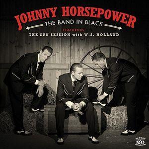 【輸入盤CD】【ネコポス送料無料】Johnny Horsepower / Band In Black 【K2017/2/10発売】