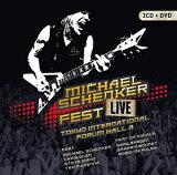 【メール便送料無料】Michael Schenker / Fest: Live Tokyo International Forum Hall A [2CD+DVD] (輸入盤CD)【K2017/3/24発売】(マイケル・シェンカー)