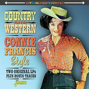 【輸入盤CD】【ネコポス送料無料】Connie Francis / Country & Western Connie Francis Style (コニー・フランシス)