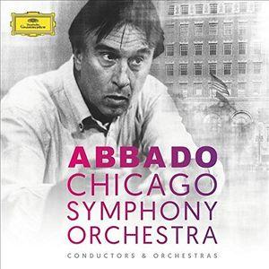 【輸入盤CD】Chicago Symphony Orchestra/Claudio Abbado / Claudio Abbado & Chicago Symphony Orchestra (Box)【K2017/4/28発売】
