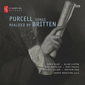 【輸入盤CD】【ネコポス送料無料】B. Britten/Robin Blaze/Allan Clayton / Purcell Songs Realised By Britten【K2016/6/10発売】