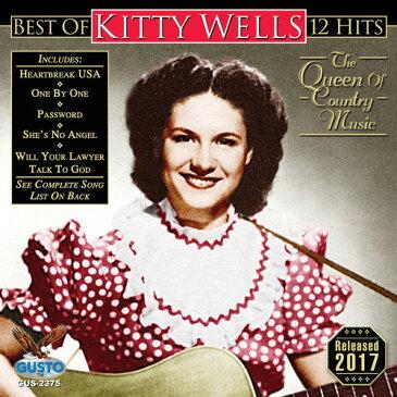 【メール便送料無料】Kitty Wells / Best Of - 12 Hits (輸入盤CD)(キティ・ウェルズ)