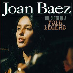 【輸入盤CD】【ネコポス100円】Joan Baez / Birth Of A Folk Legend 【K2017/8/4発売】(ジョーン・バエズ)