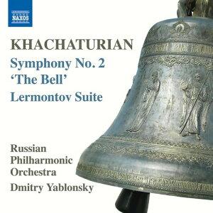 【輸入盤CD】A. Khachaturian/Russian Philharmonic Orchestra / Khachaturian: Symphony No. 2 - The Bell【K2016/5/13発売】