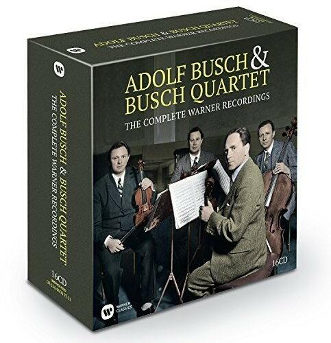 【送料無料】Adolf Busch & The Busch Quartet / Complete Warner Recordings (Box) (輸入盤CD)