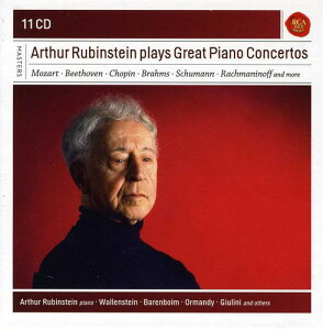 【メール便送料無料】Beethoven/Brahms/Schumann/Rubinstein / Arthur Rubinstein Plays Great Piano Concertos (輸入盤CD)【K2017/5/12発売】