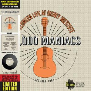 【輸入盤CD】10,000 Maniacs / In Concert - Deluxe CD-Vinyl Replica (Collector's Edition) (Deluxe Edition) 【K2017/10/10発売】(10000マニアックス)