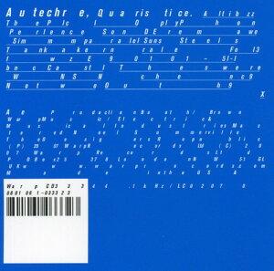 【メール便送料無料】AUTECHRE / QUARSTICE (輸入盤CD)(オウテカ)