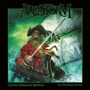 【輸入盤CD】【ネコポス送料無料】Alestorm / Captain Morgan's Revenge: 10th Anniversary Edition【K2018/1/26発売】(エイルストーム)