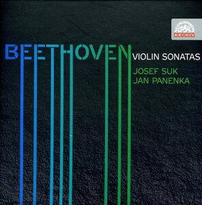 【メール便送料無料】Beethoven/Suk/Panenka / Complete Violin Sonatas (輸入盤CD)