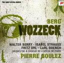 【メール便送料無料】Berg/Boulez/Orchestre Et Choeur De L'Opera De / Wozzeck (輸入盤CD)