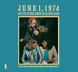 【輸入盤CD】【ネコポス送料無料】Kevin Ayers/John Cale/Brian Eno/Nico / June 1 1974 (Limited Edition) (Deluxe Edition) (リマスター盤) 【K2018/6/1発売】
