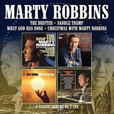 【メール便送料無料】Marty Robbins / Drifter/Saddle Tramp/What God Has Done/Xmas (輸入盤CD)【K2018/5/11発売】(マーティ・ロビンス)