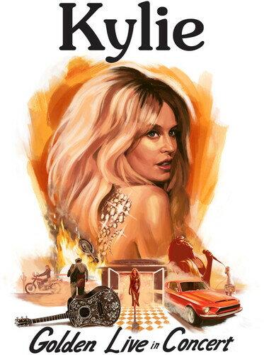 洋楽, ロック・ポップス CDKylie Minogue Kylie - Golden - Live In ConcertK2019126()