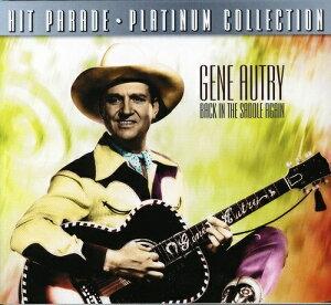 【輸入盤CD】【ネコポス送料無料】Gene Autry / Back In The Saddle Again【K2019/12/13発売】(ジーン・オートリー)