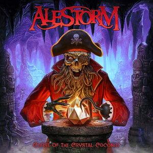 【輸入盤CD】【ネコポス送料無料】Alestorm / Curse Of The Crystal Coconut (Deluxe Edition)【K2020/5/29発売】