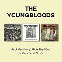 【輸入盤CD】Youngbloods / Rock Festival/Ride The Wind/Good & Dusty 【K2017/4/14発売】 - あめりかん・ぱい