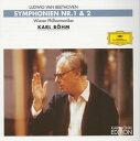 【国内盤CD】【ネコポス送料無料】ベートーヴェン:交響曲第1番 / 第2番 ベーム / VPO