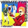 【メール便送料無料】VIBRATE TWO FINGERS / Can I vivrate?[CD]