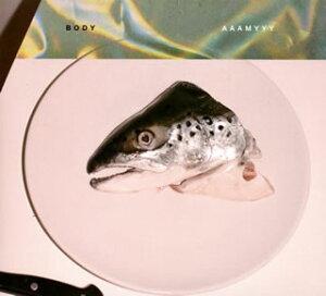 【国内盤CD】【ネコポス送料無料】AAAMYYY / BODY【J2019/2/6発売】
