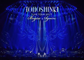 【送料無料】東方神起 / LIVE TOUR 2017〜Begin Again〜〈初回生産限定・3枚組〉[DVD][3枚組][初回出荷限定]【DM2018/3/28発売】