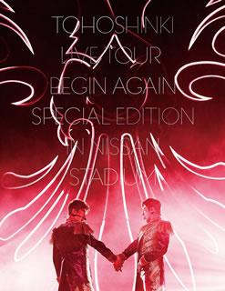 【送料無料】東方神起 / LIVE TOUR〜Begin Again〜Special Edition in NISSAN STADIUM〈初回生産限定盤・3枚組〉[DVD][3枚組][初回出荷限定]【DM2018/12/19発売】