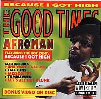 【輸入盤CD】【ネコポス送料無料】Afroman / Good Times (アフロマン)