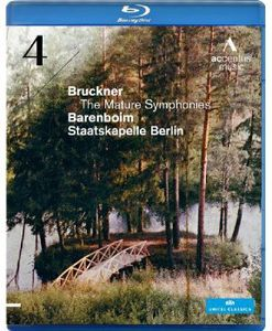 [郵件班次郵費免費]Bruckner/Barenboim/Staatskapelle Berlin/Mature Symphonies: Symphony 4(進口盤藍光)