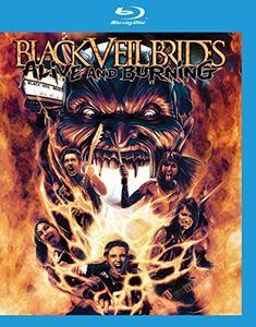 【輸入盤ブルーレイ】【ネコポス送料無料】Black Veil Brides / Alive & Burning(ブレアック・ヴェイル・ブライズ)
