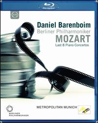 莫札特/柏林愛樂樂團/巴倫博伊 / 莫札特的最後 8 鋼琴協奏曲 (進口版藍光)