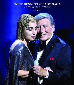 [郵件班次郵費免費]Tony Bennett/Lady Gaga/Cheek To Cheek-Live(進口盤藍光)(Tony Bennett&Lady Gaga)