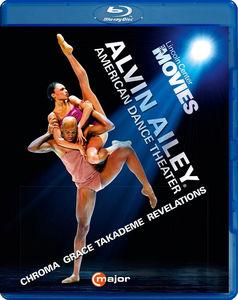 【輸入盤ブルーレイ】MCGREGOR/BATTLE/CHAYA / ALVIN AILEY AMERICAN DANCE THEATER【BM2016/10/14発売】