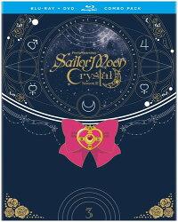 【送料無料】SAILORMOONCRYSTAL:SEASON3SET1(4PC)(W/DVD)(アニメ輸入盤ブルーレイ)【B2017/12/5発売】