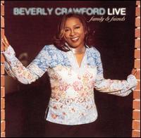【輸入盤CD】【ネコポス送料無料】Beverly Crawford / Live: Family and Friends (ベヴァリー・クロフォード)