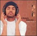 【R&B/Hip-Hop:ク】クレイグ・デヴィッドCraig David / Born To Do It (CD) (Aポイント付)