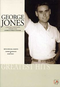 【輸入盤DVD】GEORGE JONES / LIVE IN CONCERT AT CHURCH STREET STATION(ジョージ・ジョーンズ)