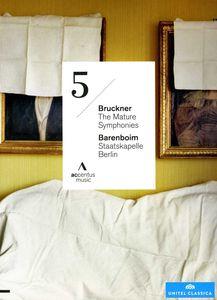 BRUCKNER/BARENBOIM/STAATSKAPELLE BERLIN / MATURE SYMPHONIES: SYMPHONIE 5(進口盤DVD)