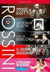 【輸入盤DVD】【送料無料】ROSSINI/ORCHESTRA AND CHORUS OF THE TEATRO / ROSSINI FESTIVAL COLLECTION (5PC) (2016/7/29)