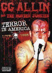 【輸入盤DVD】【ネコポス送料無料】GG ALLIN / TERROR IN AMERICA: LIVE 1993