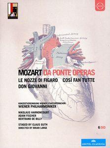 【輸入盤DVD】MOZART/VPO/HARNONCOURT/FISCHER/DE BILLY / DA PONTE OPERAS (6PC)
