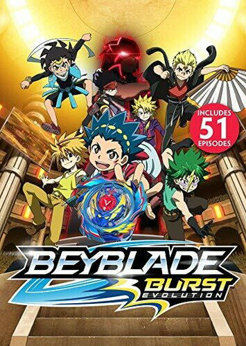 アニメ, その他 DVDBEYBLADE BURST: SEASON 2 (EVOLUTION) - FULL SEASONDM2019101