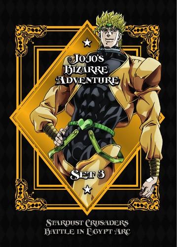 アニメ, その他 DVD1JOJOS BIZARRE ADVENTURE SET 3: STARDUST CRUSADERSDM2019122